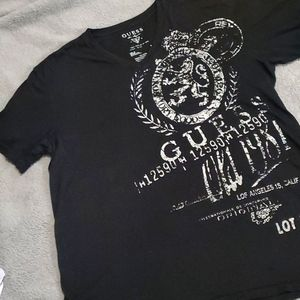 Mens Guess Graphic T shirt